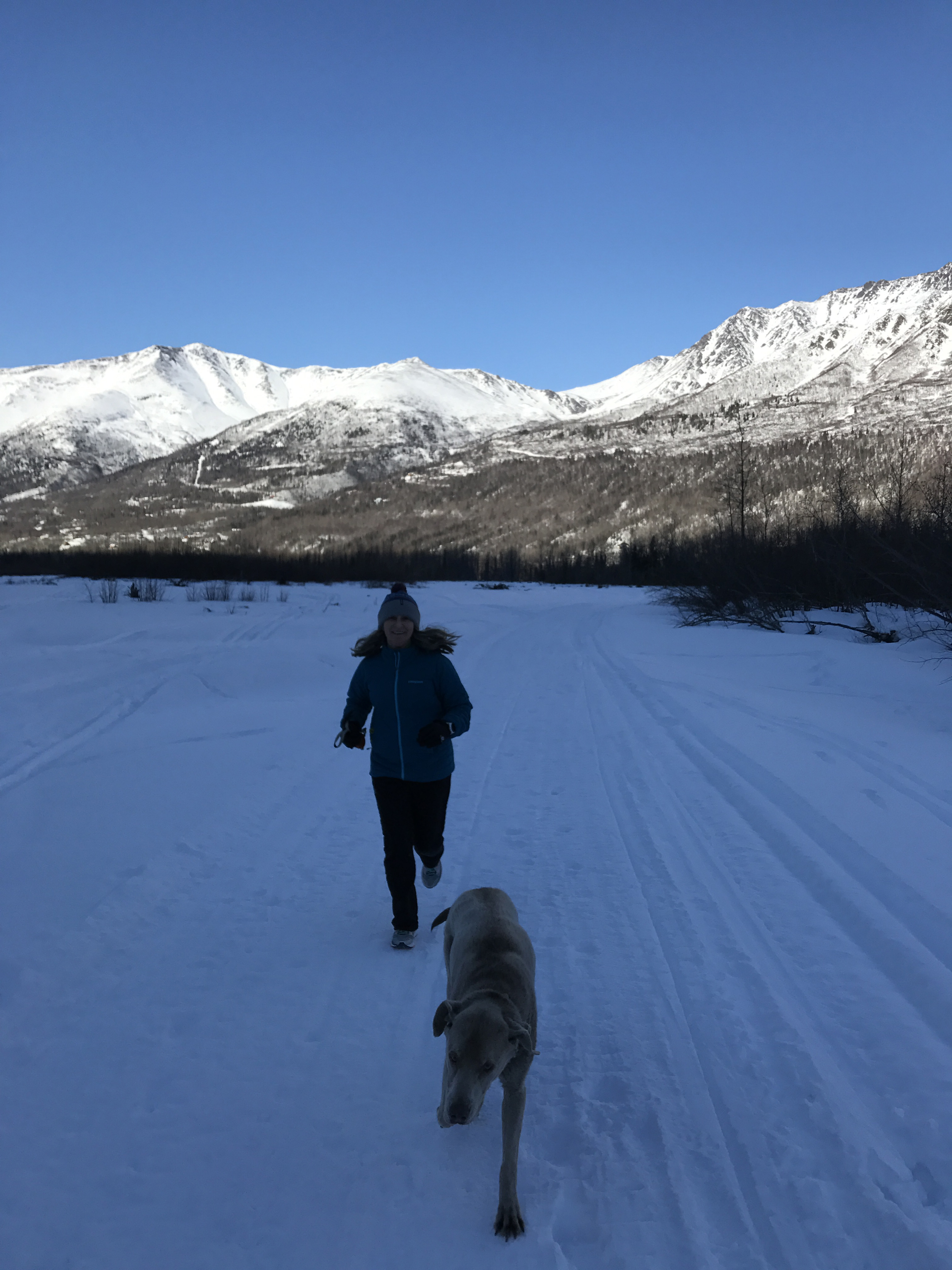 Running on Eagle River