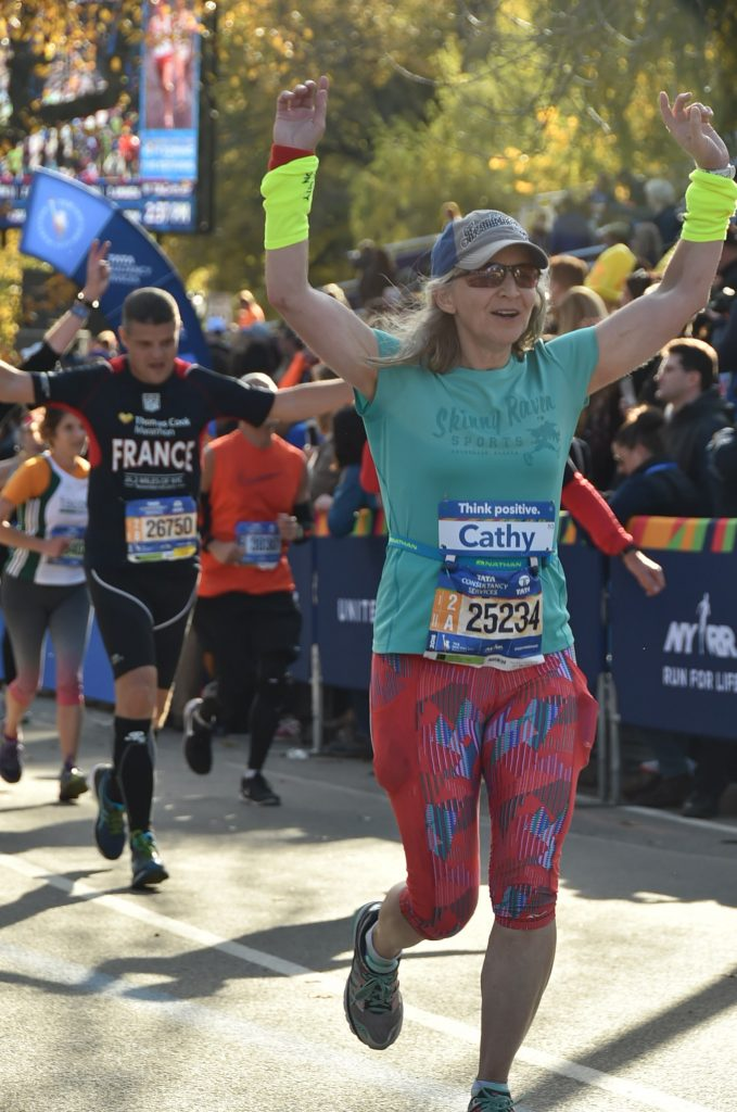 NYC Marathon 2016 Finish