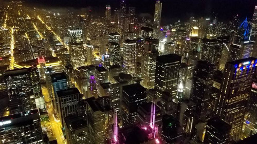 Willis Tower View Chicago